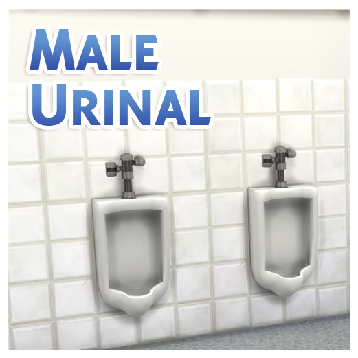 Advertisement. Mod The Sims   Male Urinal