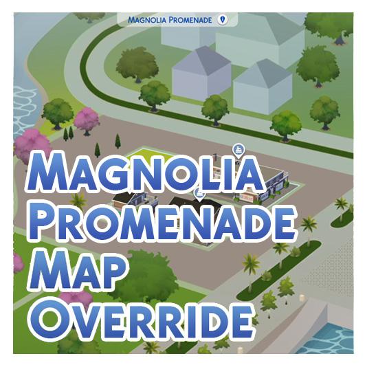 Mod the sims magnolia promenade colour map override x gumiabroncs Choice Image
