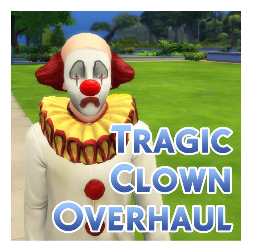 Мод Трагический ремонт клоуна