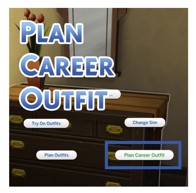 Мод План карьерного снаряжения