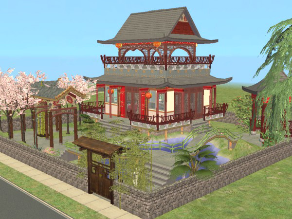 Mod The Sims China House