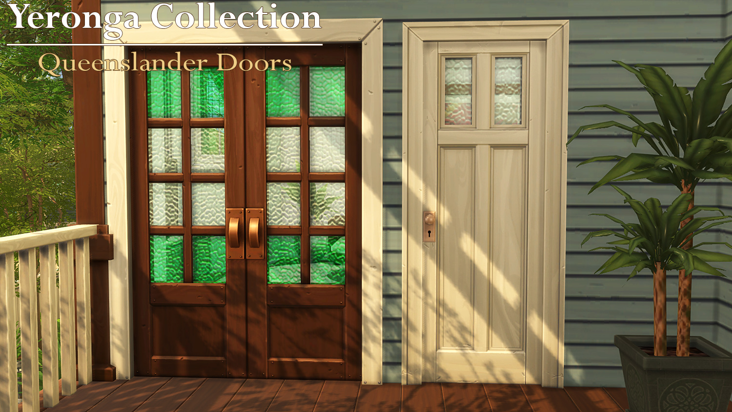 Mod The Sims Queenslander Doors Yeronga Collection