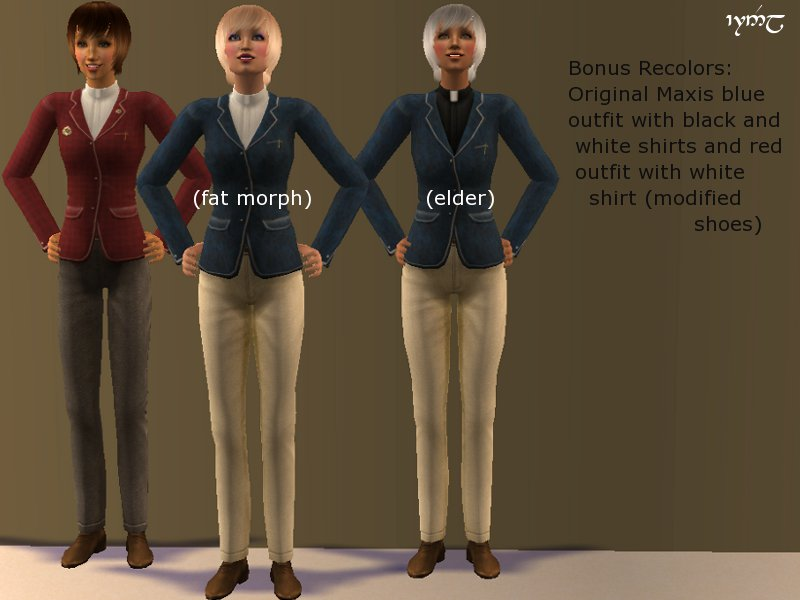 mod the sims default replacement sporty af outfit from in