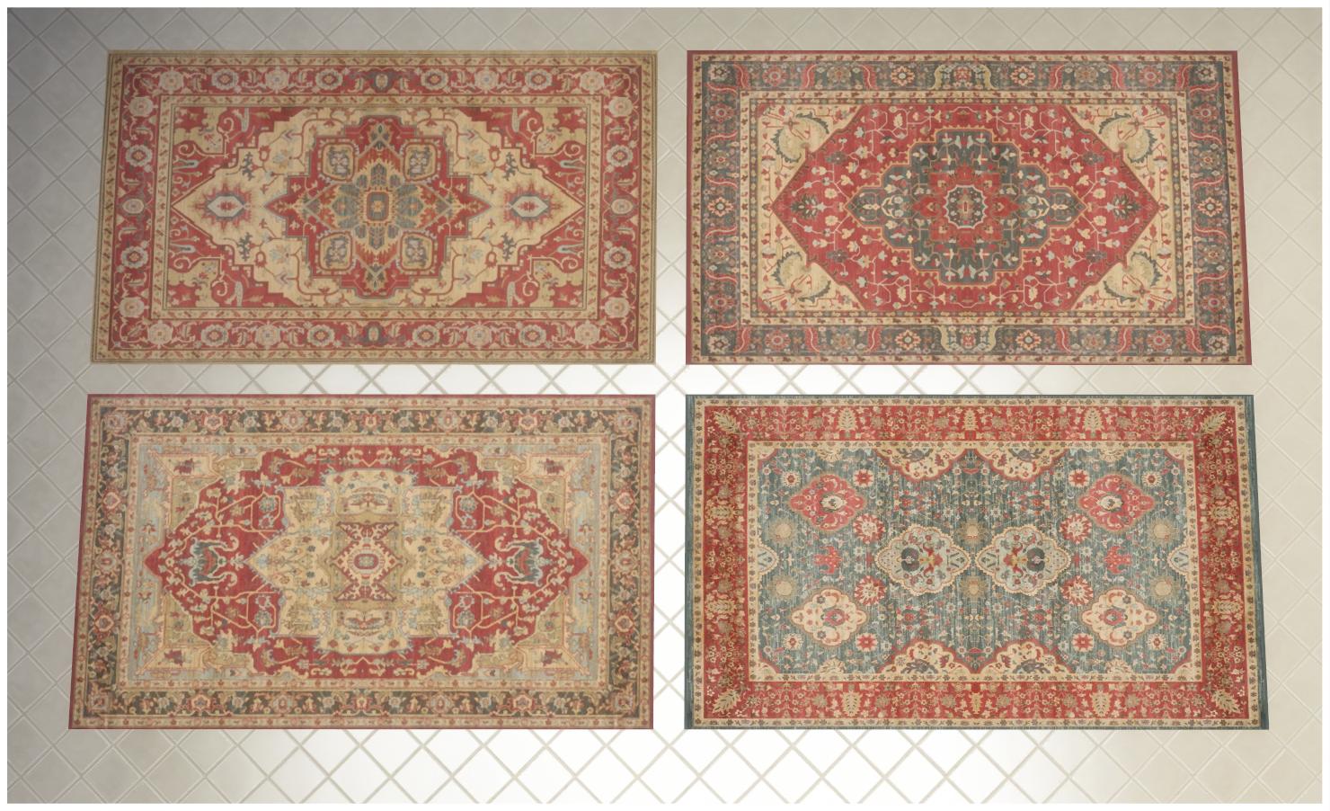 Мод 48 традиционных и современных ковров