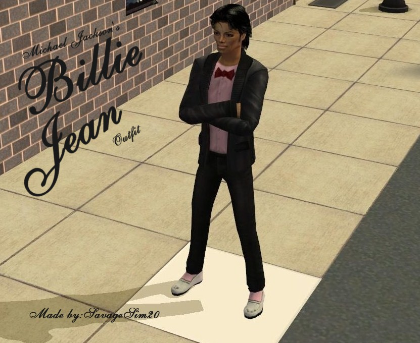 Mod The Sims - Michael Jackson's outfit from