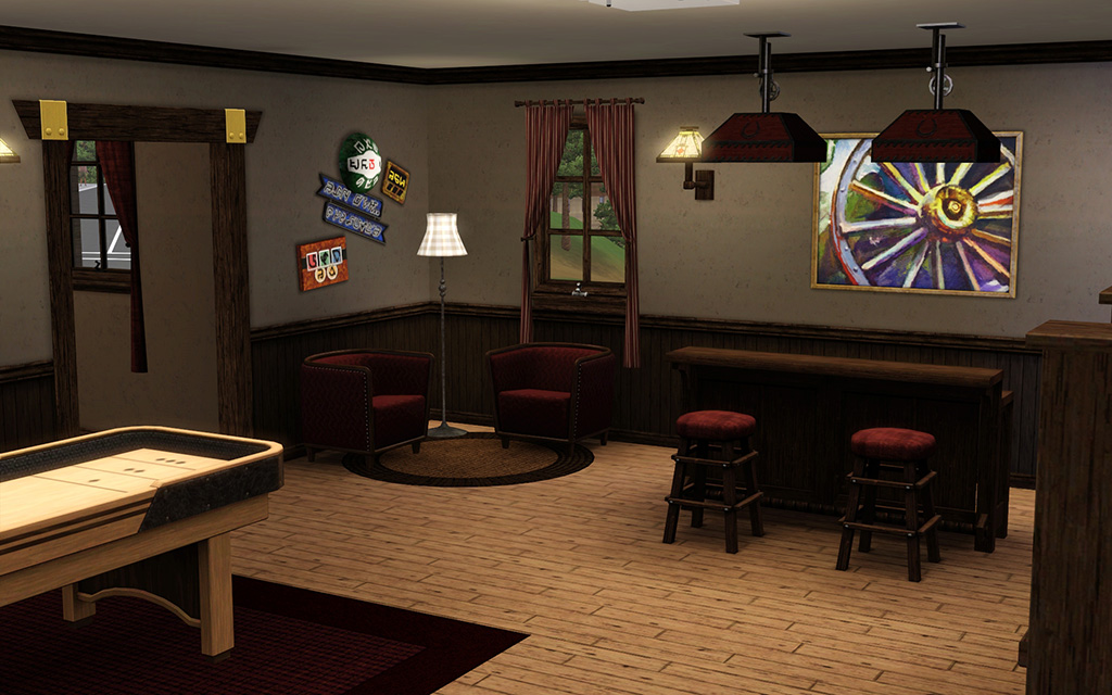 Game Room Flooring : Mod the sims fiddler s green no cc or store content
