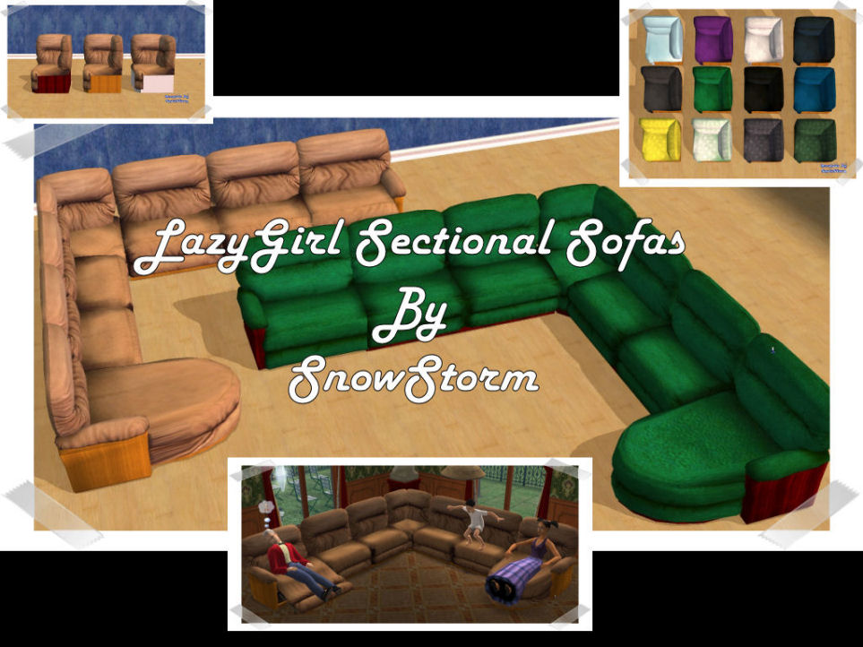 Advertisement  sc 1 st  Mod The Sims : sims 3 sectional - Sectionals, Sofas & Couches