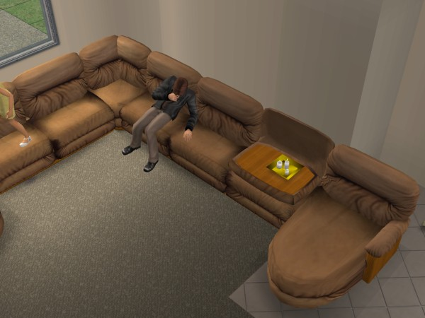 Advertisement : sims 3 sectional - Sectionals, Sofas & Couches