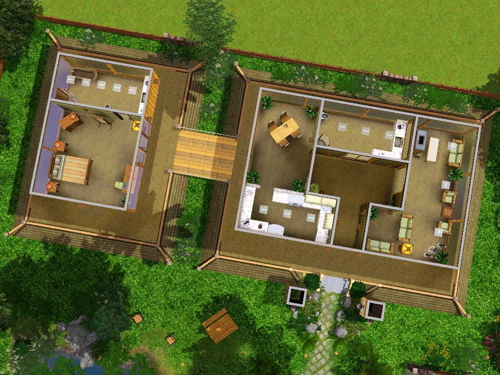 Mod The Sims - Kodwang Thai House