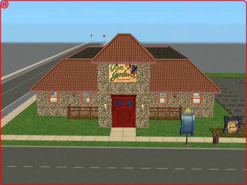 Mod The Sims Olive Garden Italian Restaurant