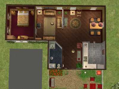 Astounding Mod The Sims Nice Small House Fully Furnished Largest Home Design Picture Inspirations Pitcheantrous