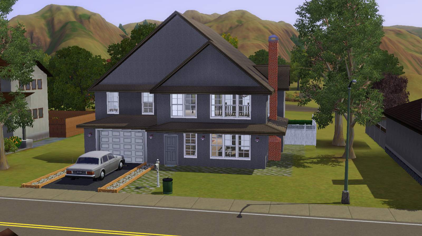 Mod the sims suburban family home for Family home