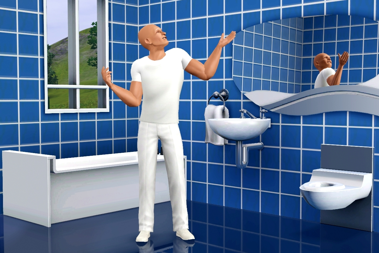 Mr Clean Bathroom - Advertisement