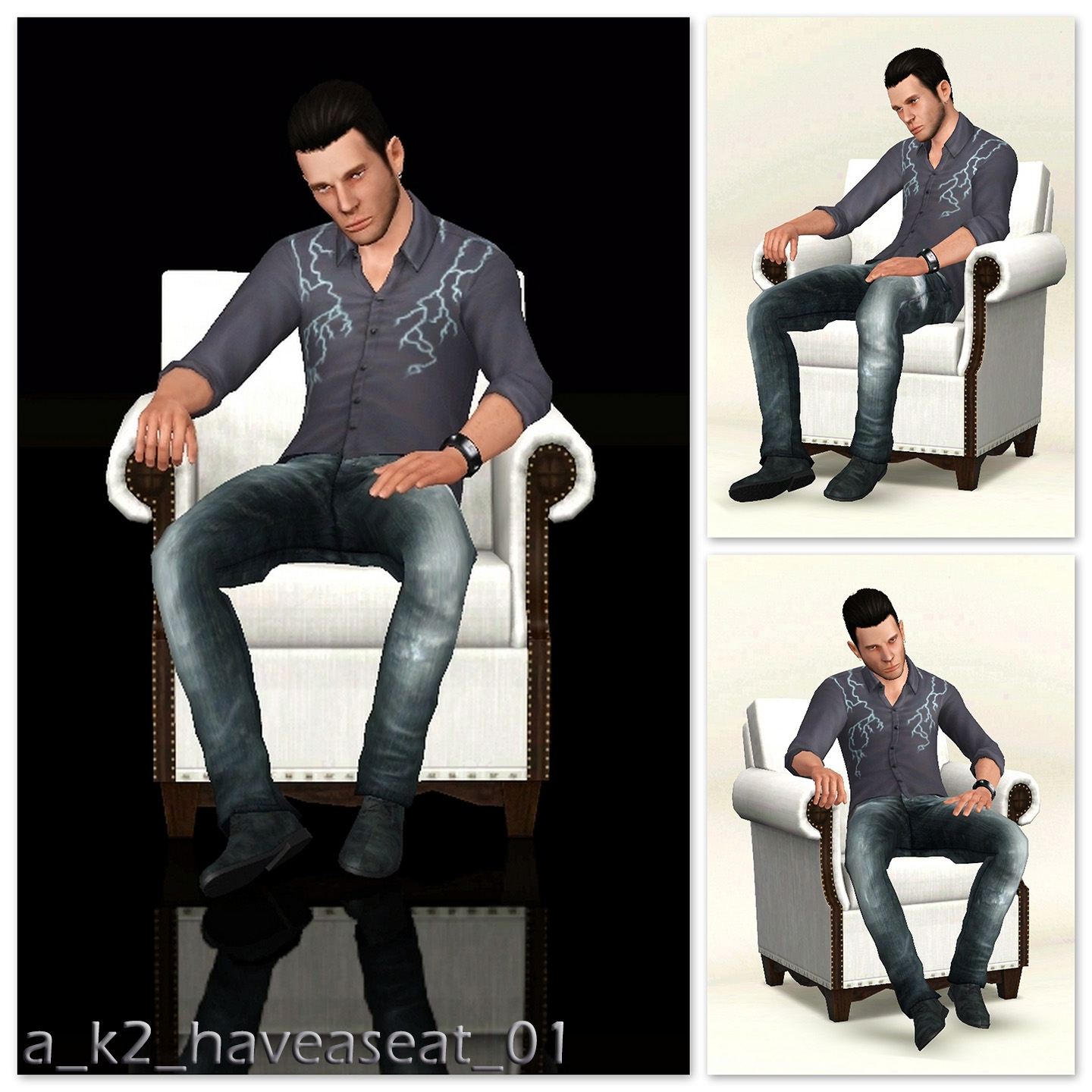 Mod The Sims Have A Seat Seated Poses