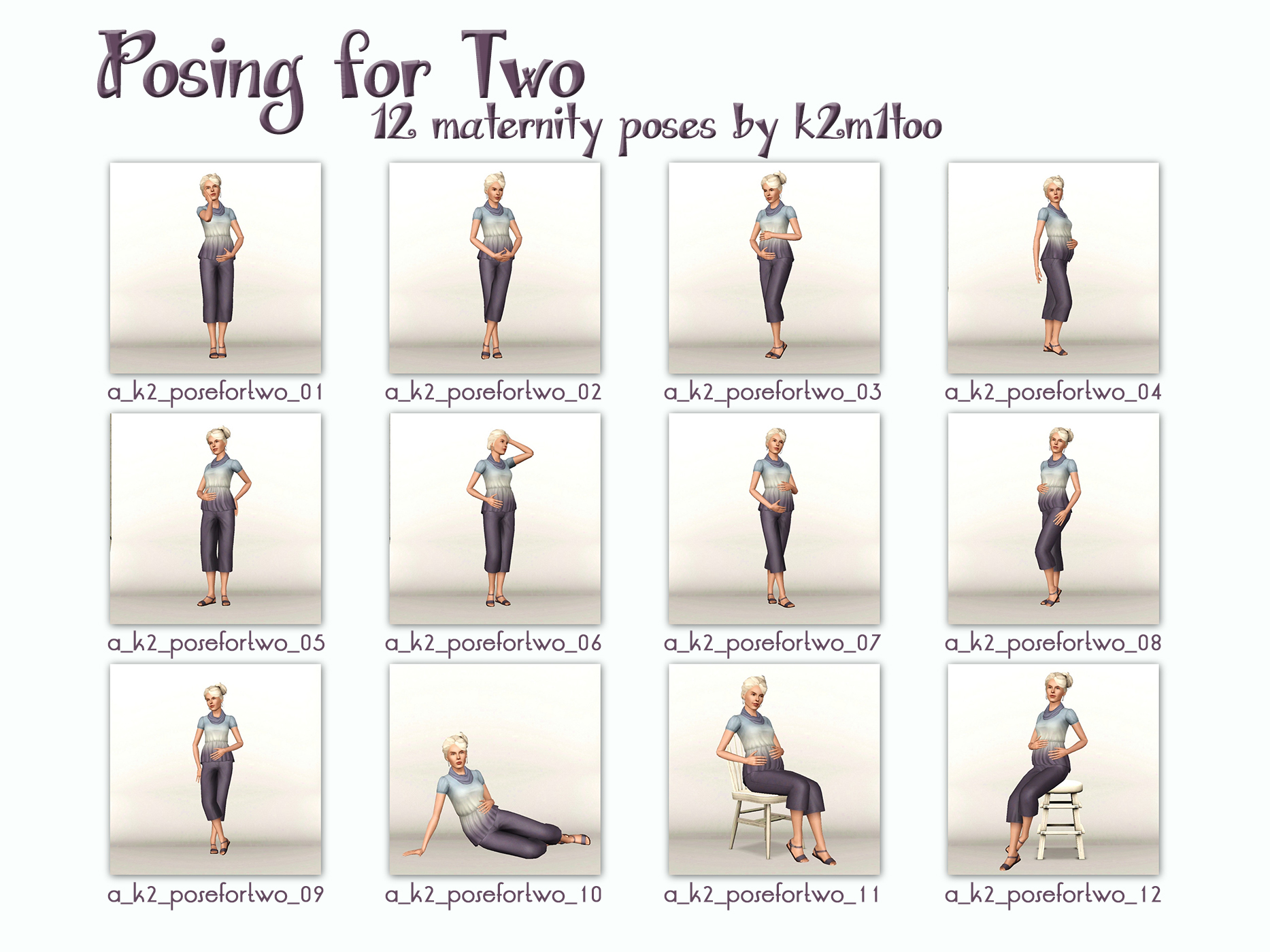 mod the sims posing for two maternity poses rh modthesims info maternity photography guide pdf maternity posing guide pdf