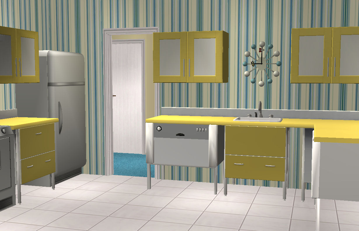 Better Homes And Gardens Kitchen Table Set Mod The Sims 1960 Mid Century Modern Better Homes Gardens