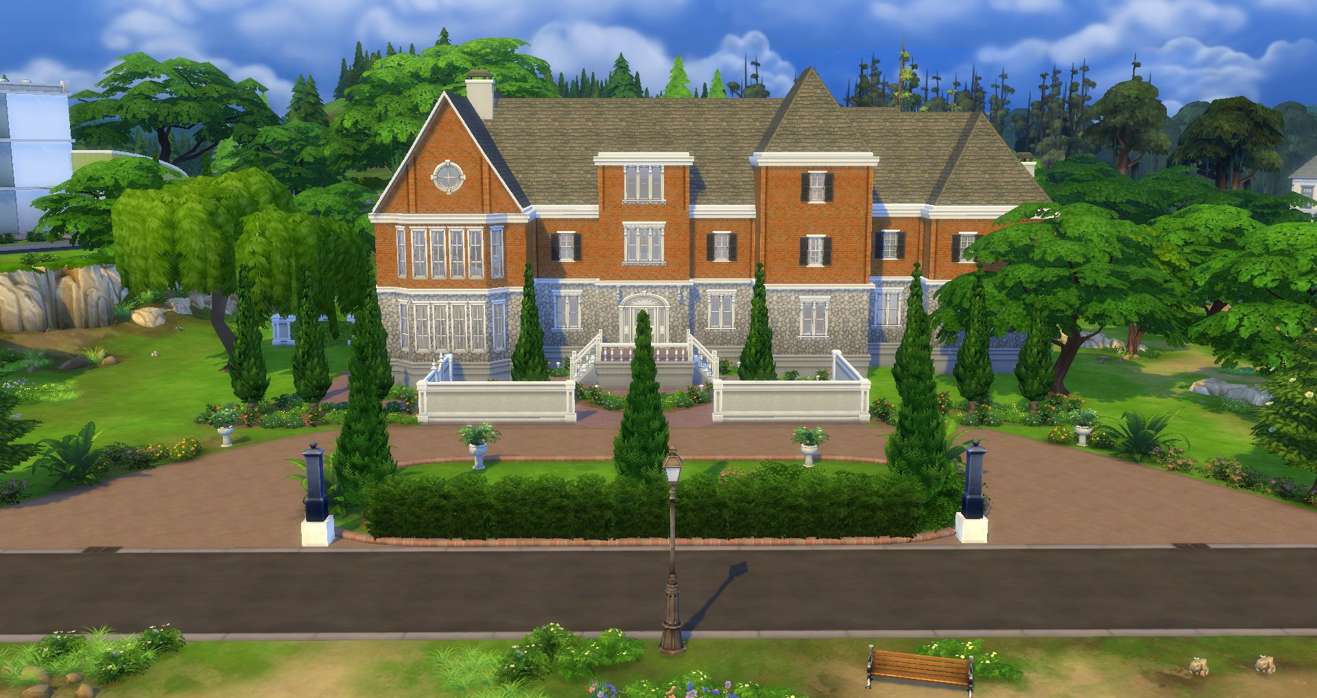 Mod The Sims - [OLD] Chateau du Landgraab for TS4 [remake