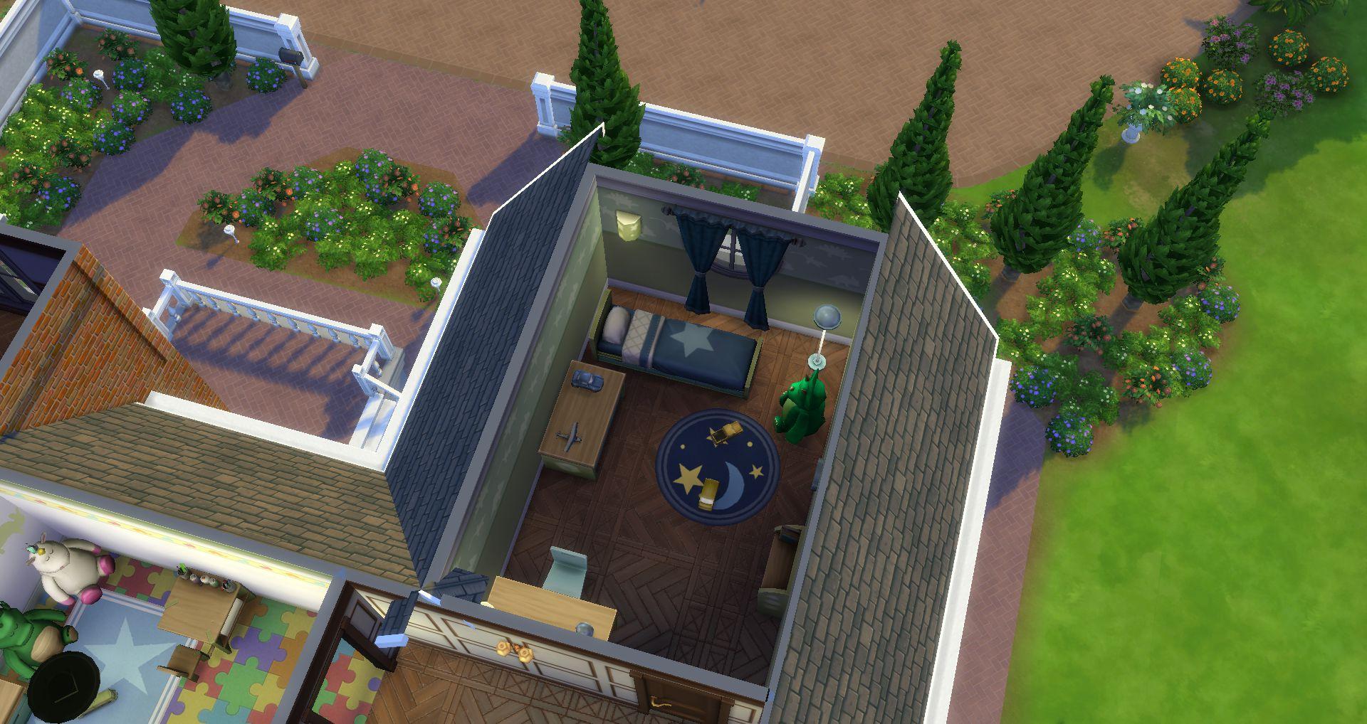 mod the sims new chateau du landgraab for ts4 remake port no cc