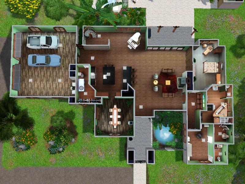 Mod The Sims - Isla Paradiso Villa - NO CC