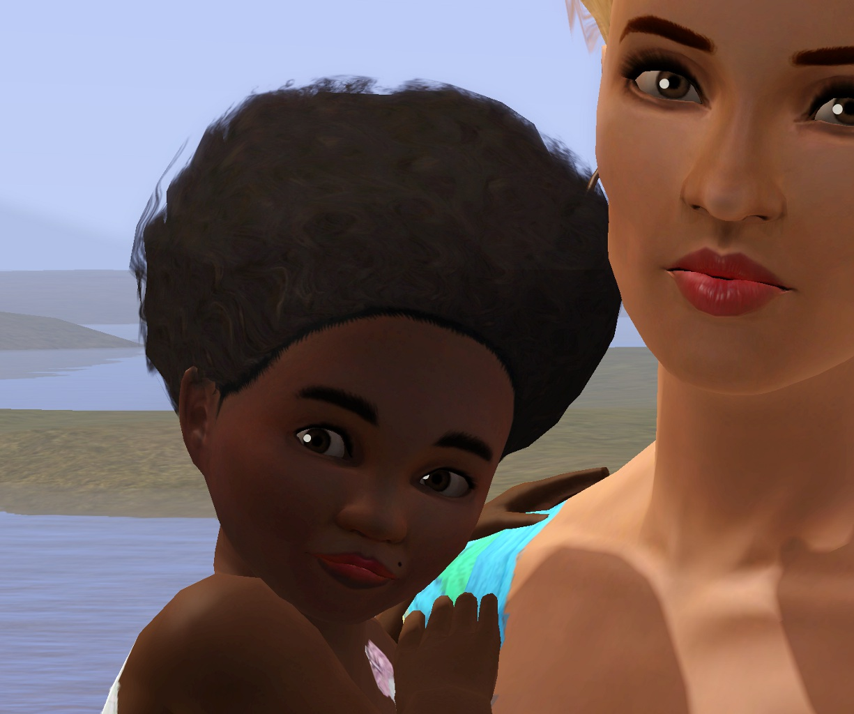 Mod The Sims Sims 3 Shop Halloween Hair As Afro Now