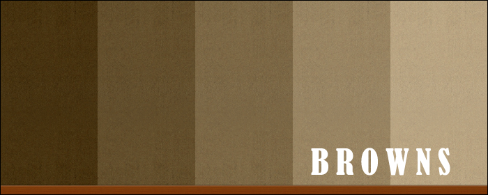 Warm Stucco Colors Browns