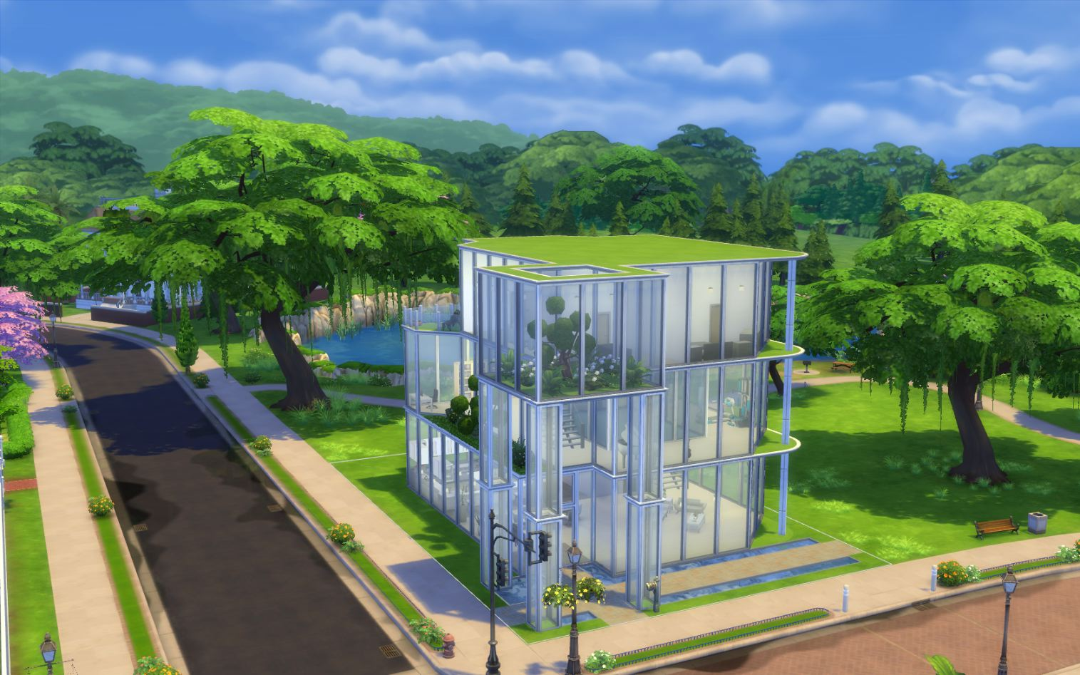 Mod the sims modernview high end house for Modernview homes