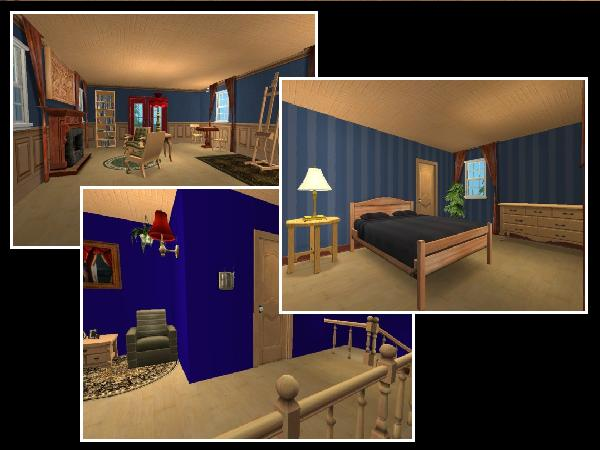 Mod the sims historic montauk point lighthouse of new for Light house interior