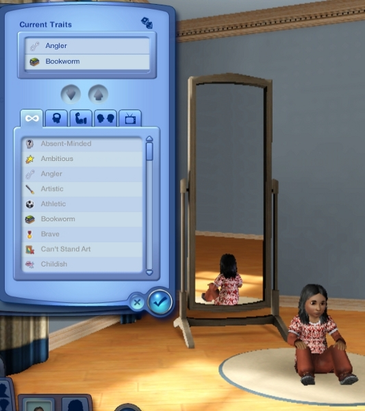 mod the sims unlocked traits for babies and toddlers now. Black Bedroom Furniture Sets. Home Design Ideas