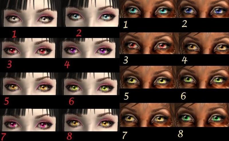 Vampire Eyes Color | Best Hairstyles 2018