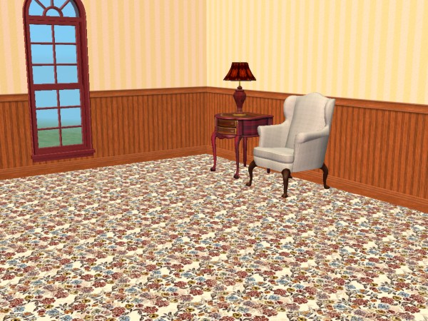 Mod The Sims Victorian Feilds Carpets In Five Colors