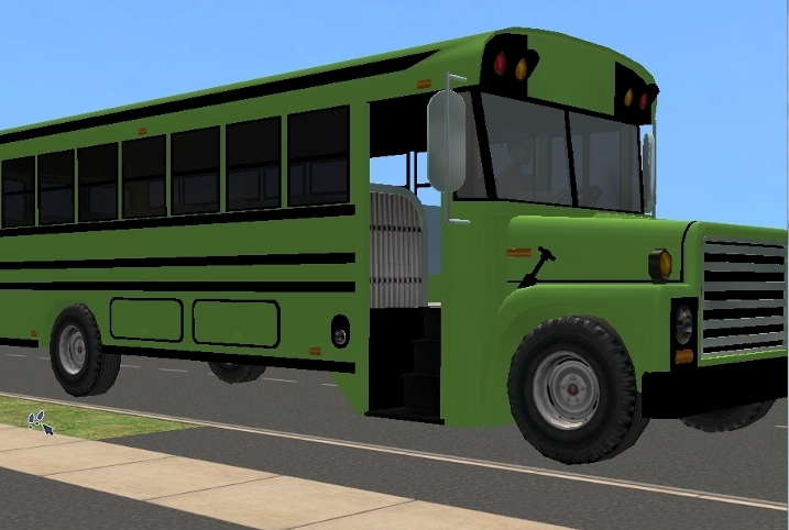 Mod The Sims School Bus Default Replacements In 9 Colors