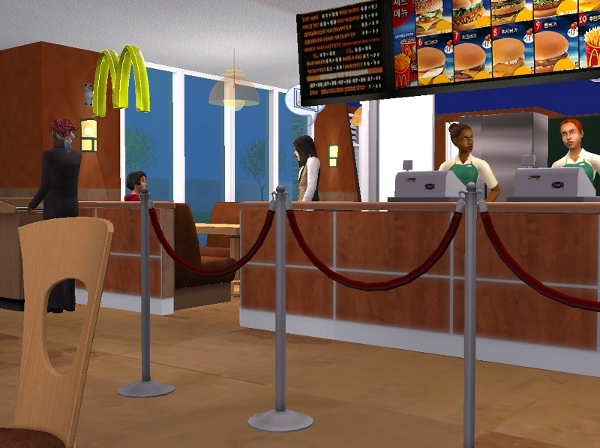 Mod The Sims - Fast Food Career for teens and elders