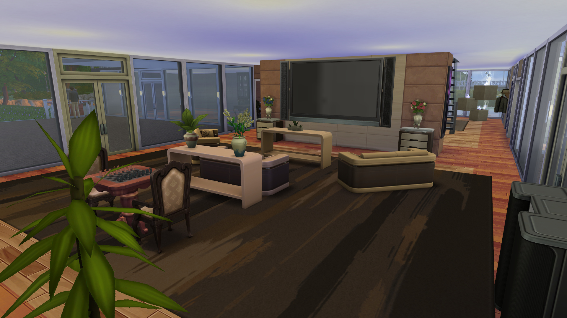 Mod The Sims Reflections A Large Modern Spacious Mansion
