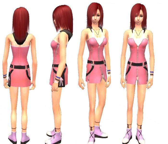 Kairi Kingdom Hearts 2: Kairi From Kingdom Hearts II