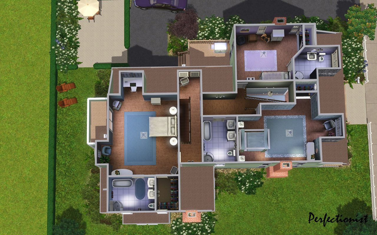 Mod The Sims Emerald House No CC