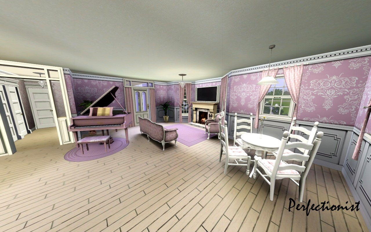 Mod the sims 39 the wallflower 39 for Sims 3 dining room ideas