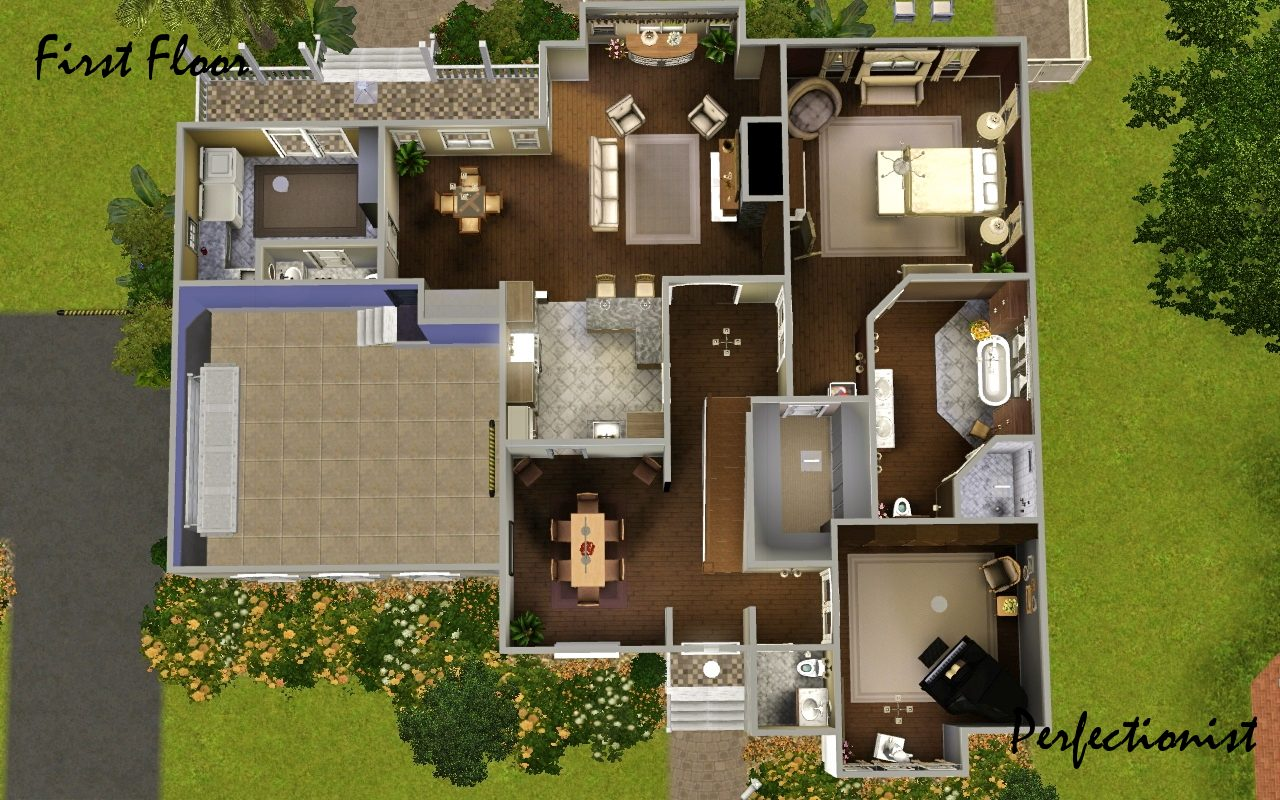 The Original Sims 2 Version Of This House Can Be Found Here