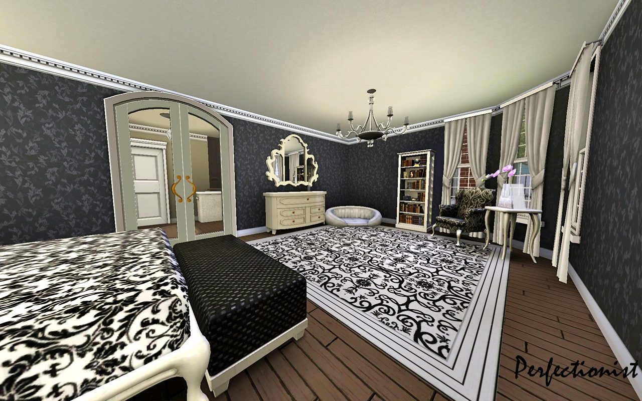 Sims 3 Bedroom Mod The Sims 5 Bedroom European Style House Ts3 Remake No Cc