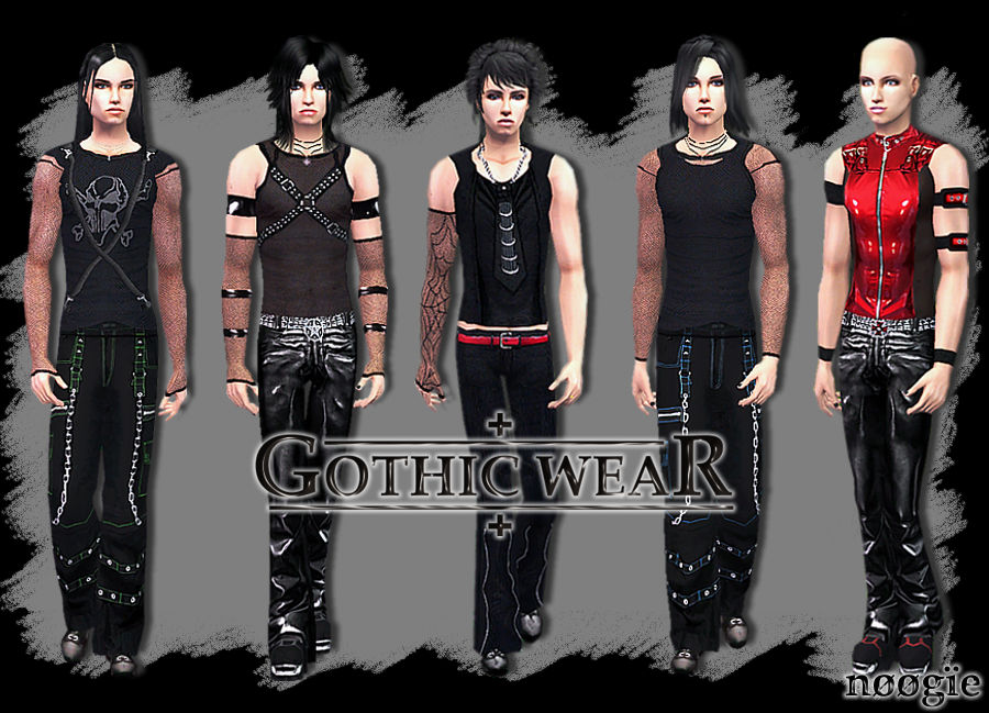 Mod The Sims - Gothic Wear
