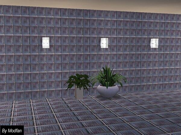 Mod the sims glass block wall and floor for Glass block floor