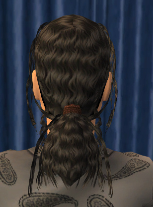 Mod The Sims Michael Jacksons Smooth Criminal Hair