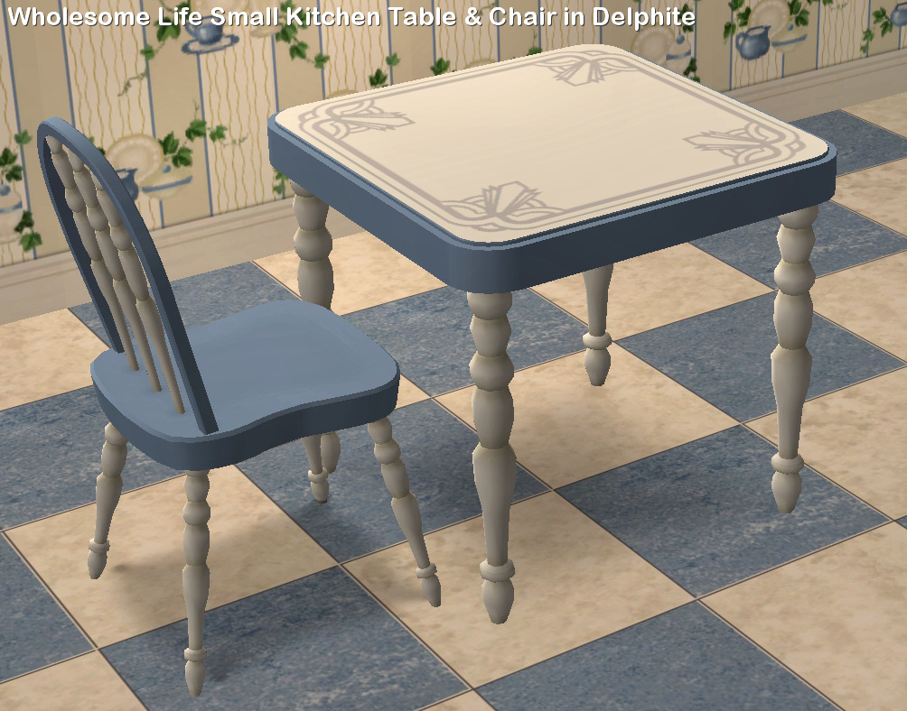 Mod The Sims - Wholesome Life brand Kitchen Tables, Chairs ...