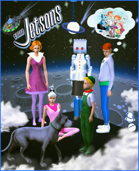 Sims 3 Cartoon Characters : Mod the sims jetsons