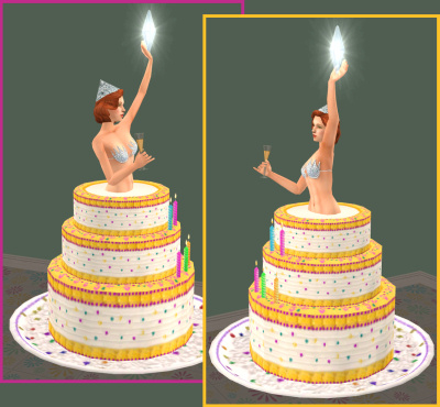 Where To Buy A Birthday Cake In Sims