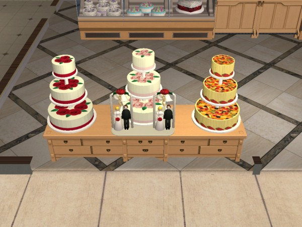 Can You Buy A Wedding Cake On Sims
