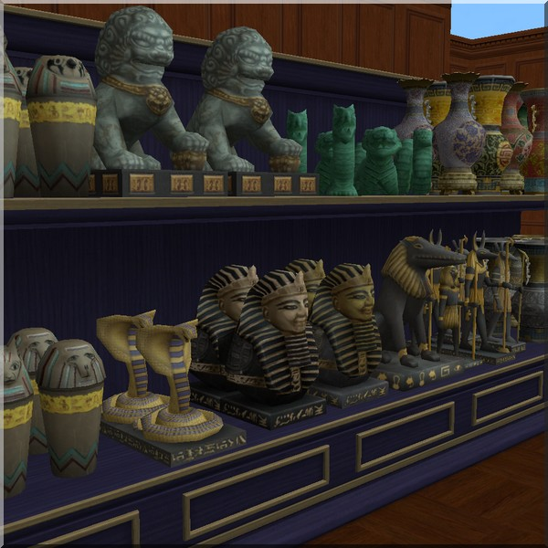 mod the sims relics from ts3 world adventure. Black Bedroom Furniture Sets. Home Design Ideas