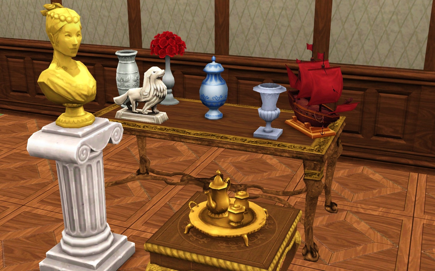 Mod The Sims Decoration Set From Ts4