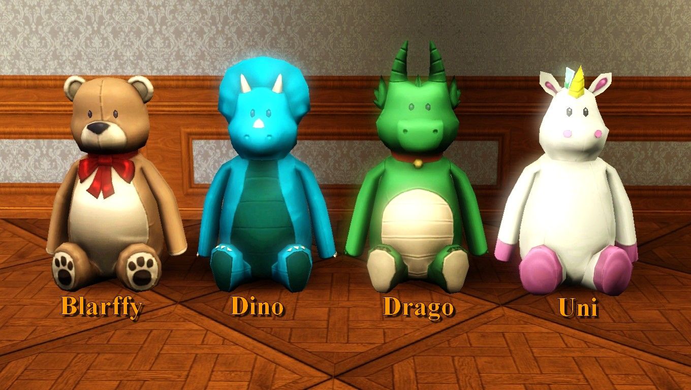 Toys For 4 : Mod the sims toys set from ts th april update