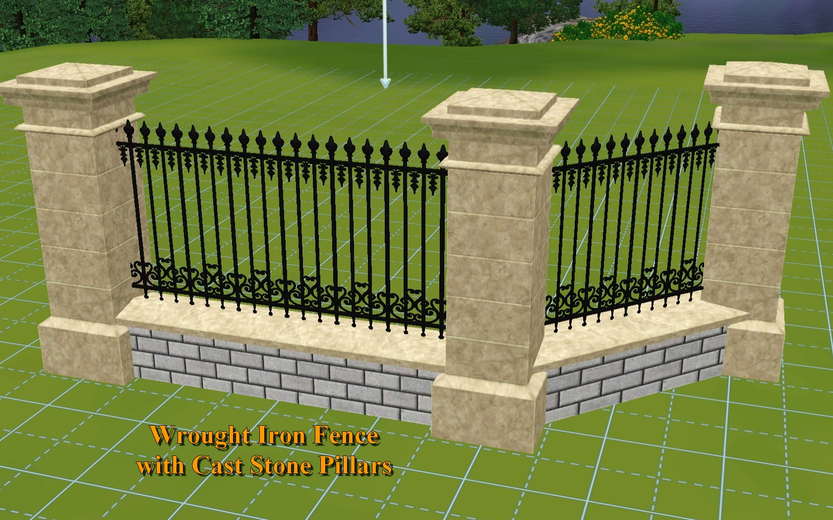 The Sims  Download Build Fence