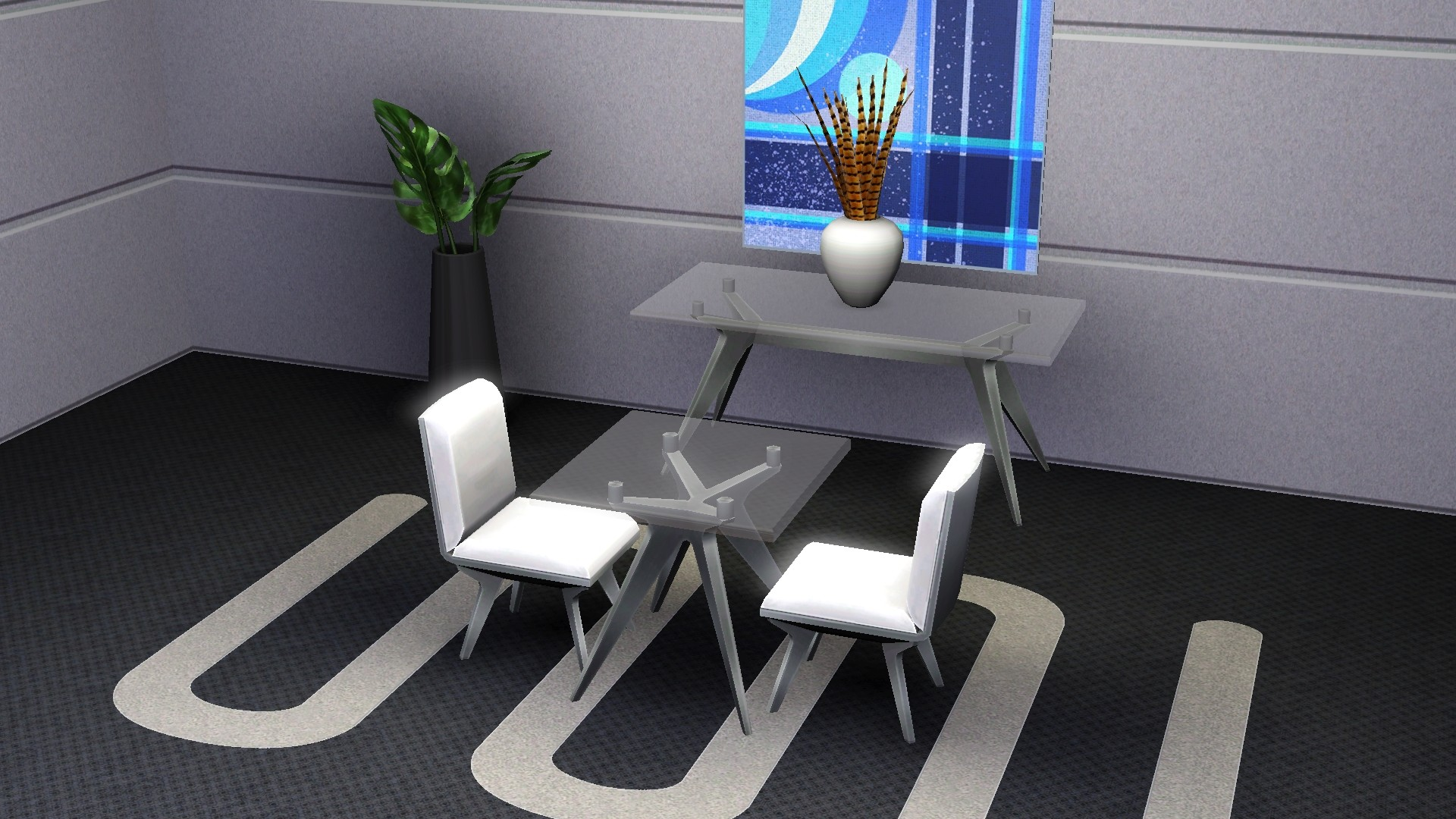 mod the sims modern set from ts4